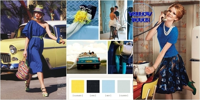blue and yellow color combination