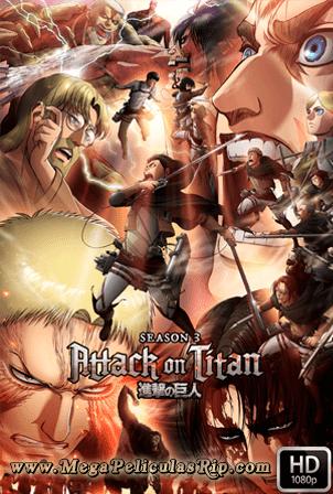 Ataque A Los Titanes Temporada 3 [1080p] [Latino-Japones] [MEGA]