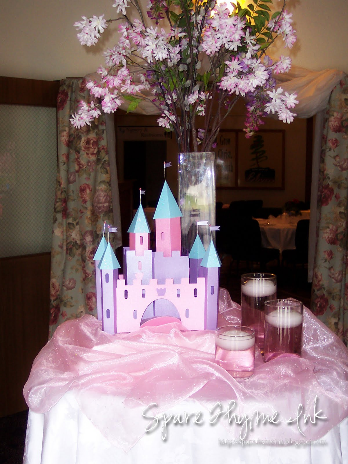Spare Thyme Ink Princess Party Room Decor