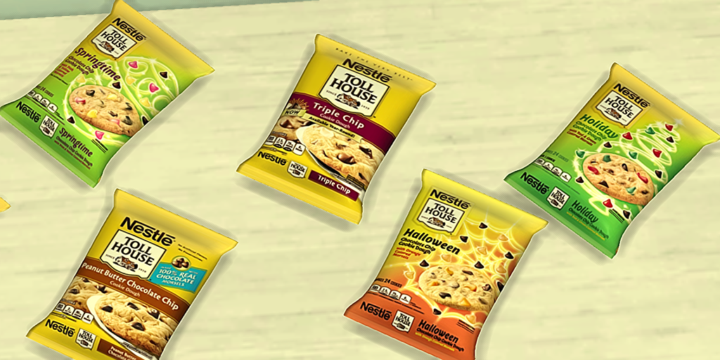 TS4 Nestle Toll House Cookies (Fixed 7.8.19) - YDB