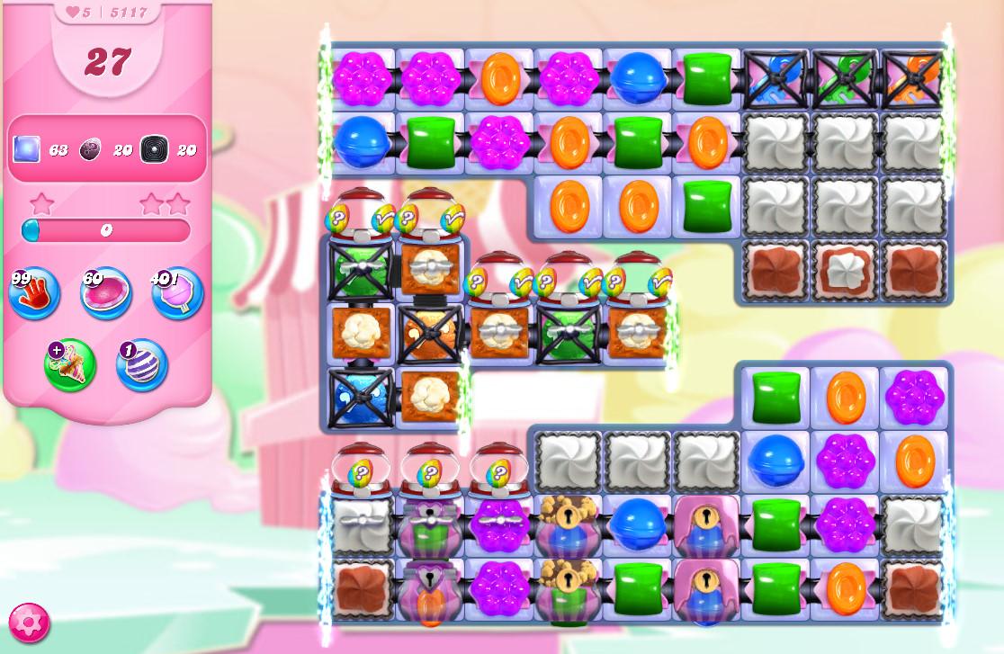 Candy Crush Saga level 5117