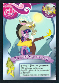 My Little Pony Twilight Sparkle in Chaos! Series 1 Trading Card