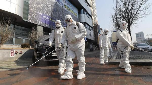 Korsel Laporkan 334 Kasus Corona dalam Sehari, Total 1.595 Orang Terinfeksi
