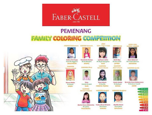 fabercastell family coloring competition 20182019