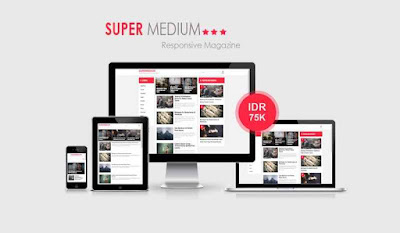 Update Supermedium V1.01 Blogger Template