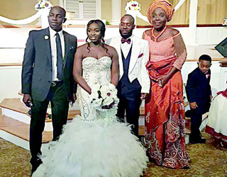 Lovely Photos From Ex-Super Eagles' Coach, Samson Siasia's Daughter's Wedding In U.S