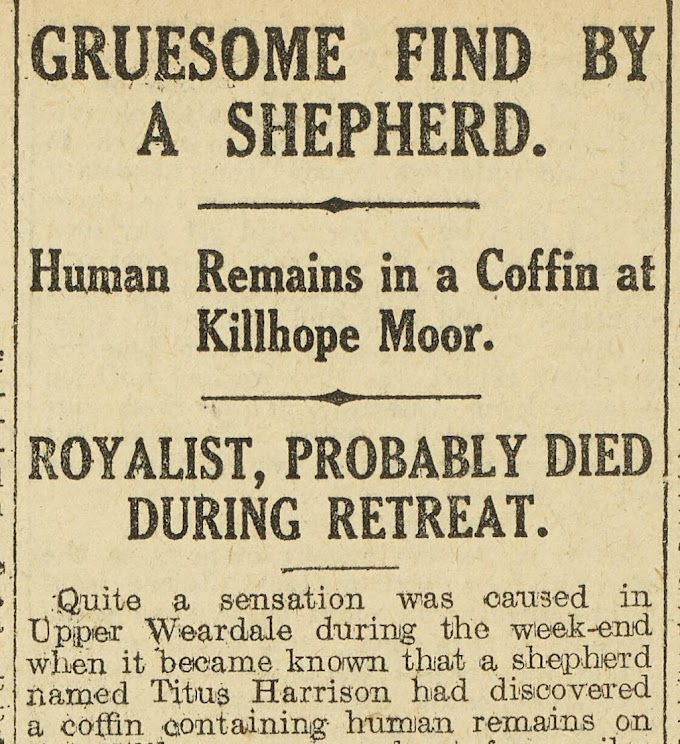 Mystery of The Killhope Moor Coffin