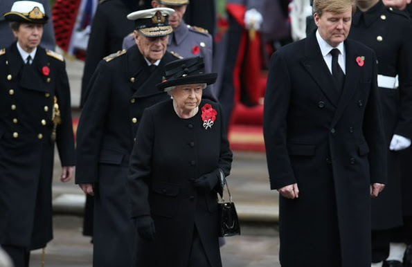 British And Netherland Royals Attended The Annual Remembrance Sunday Service