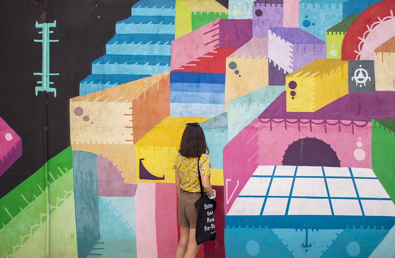 salamanca barrio del oeste arte urbano