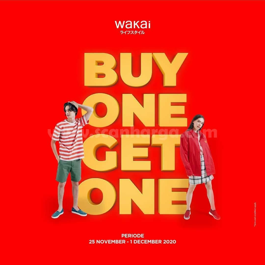 Promo WAKAI End Of Season Sale: Buy 1 Get 1