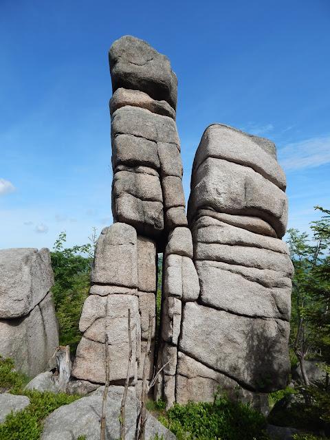 Kukułcze skały, śnieżne kotły