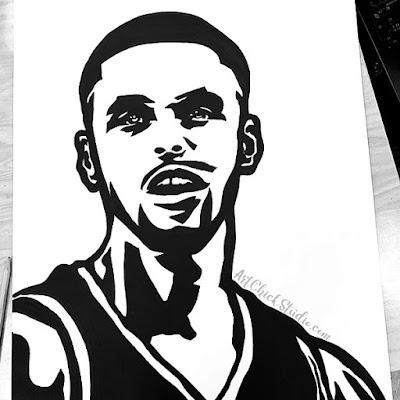 Steph Curry Portrait