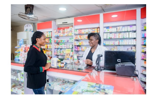 Urgent requirement at a pharmacy outlet in Lagos.