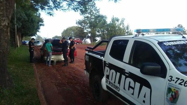 Detuvieron a un joven acusado de robar autopartes en Oberá