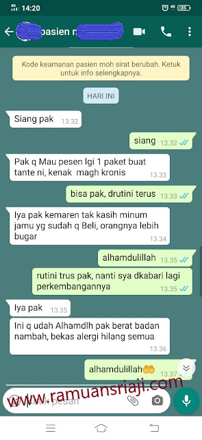 testimoni herbal sriaji