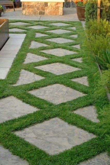 desain jalan setapak taman