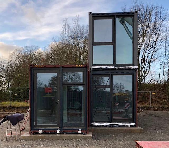 Shipping Container Tiny Homes Village, Germany 23