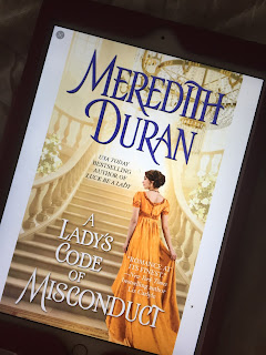 picture, book picture, ebook picture, Meredith Duran, romance, historical romance, adult, mystery politics, review, a lady'c code of misconduct