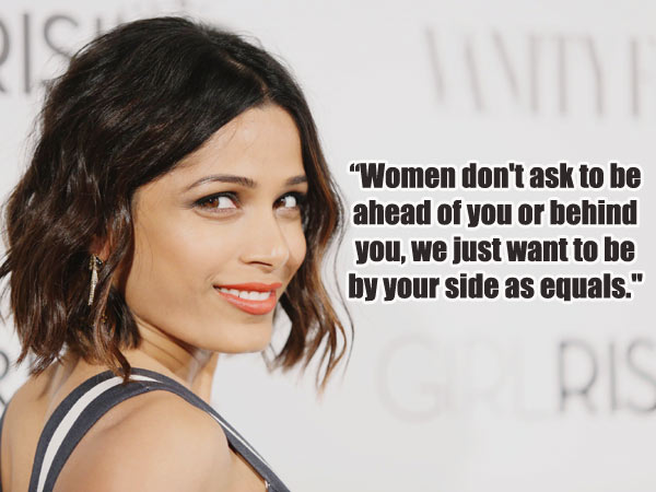 idiva_freida_pinto_womens day quotes