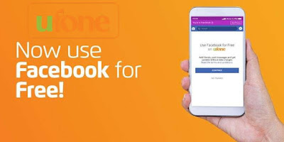 Ufone Free Facebook code