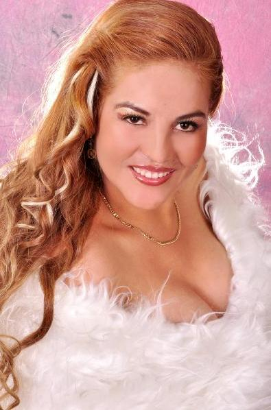Marisol Cavero en sesión de foto