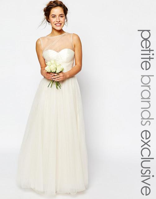 Quick Delivery Wedding Dresses 44 Vintage asos petite wedding dress