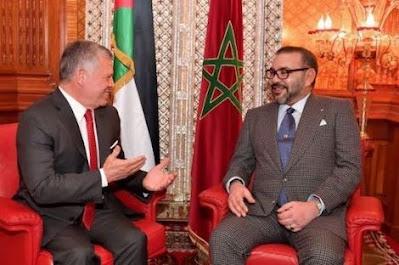 الملك محمد السادس نصره الله  يؤكد دعم استقرار الأردن