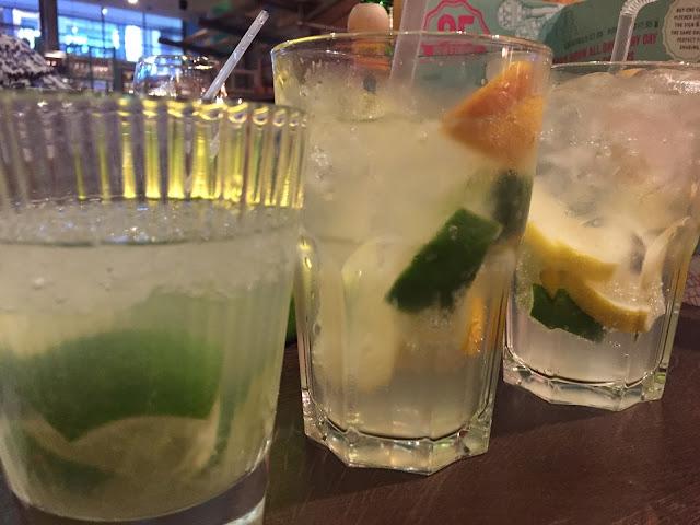 Las Iguanas Basingstoke Cocktails