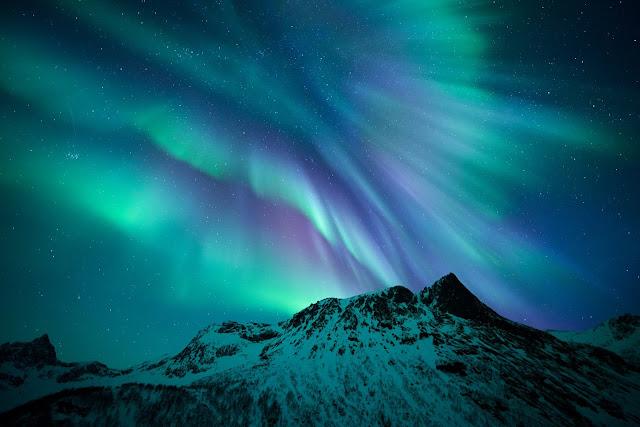 Aurora over Senja