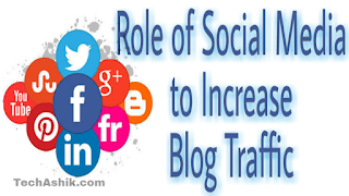 Role of soicial media to increase blog traffic