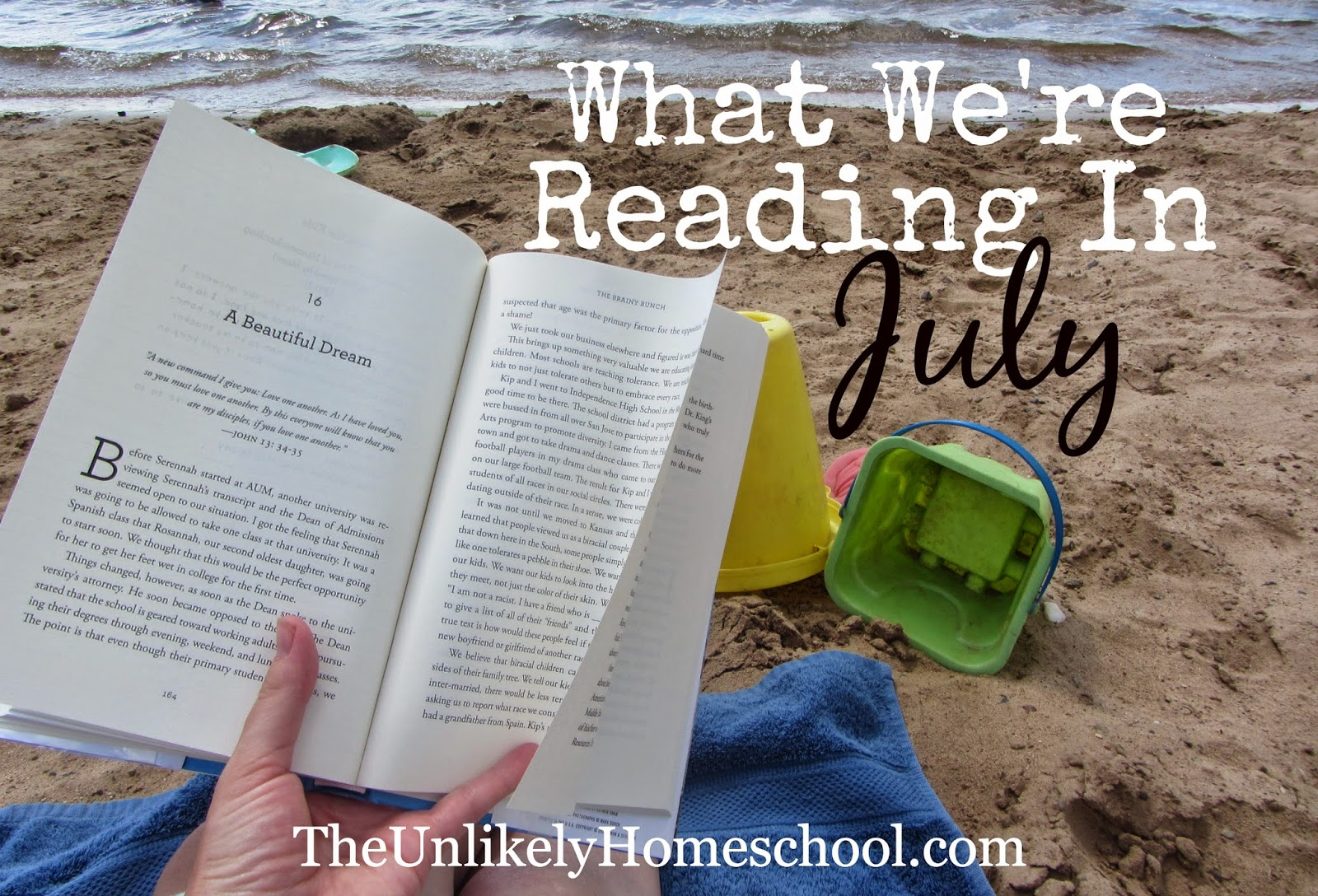 What We're Reading in July {The Unlikely Homeschool}