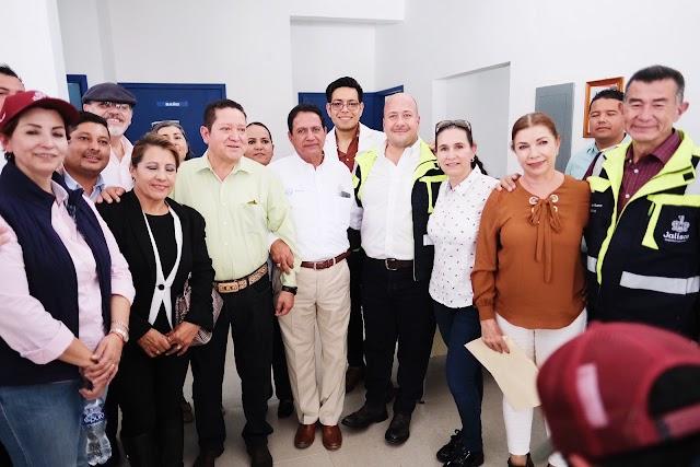 """Gobierno de Jalisco ejecuta obras de rehabilitación en infraestructura y lleva el programa """"Jalisco revive tu Hogar"""" al municipio de La Barca"""