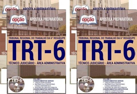 Apostila TRT 6 Região (PE) Técnico Judiciário