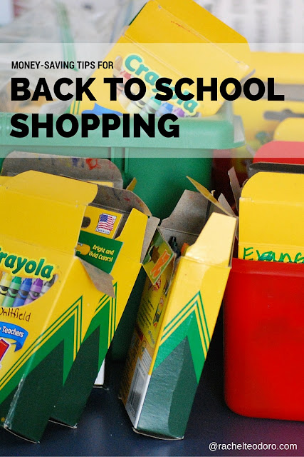 school supplies how to save money on going back to school