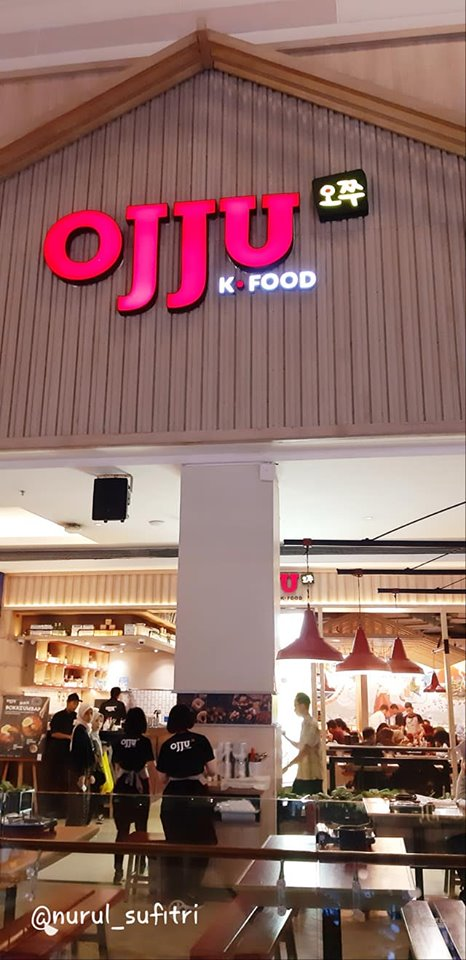cara menikmati masakan korea di ojju k food restaurant mall kota kasablanka pakai voucher discount traveloka xperience nurul sufitri blogger travel lifestyle review culinary