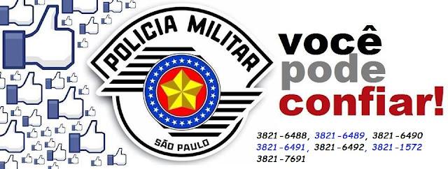 TELEFONES DA POLÍCIA MILITAR DE REGISTRO-SP