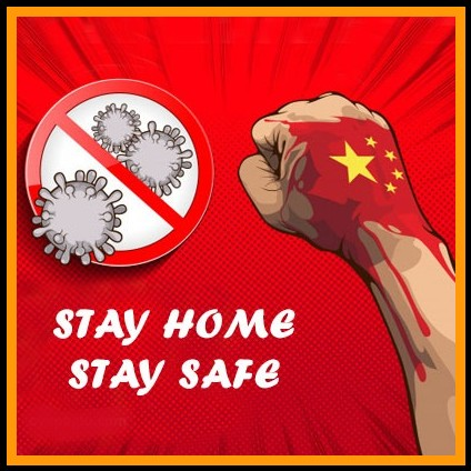 the fight against the virus stay safe