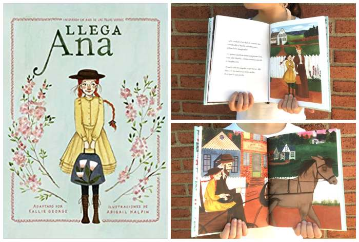 mejores cuentos libros infantiles de 5 a 8 años Llega Ana, tejas Verdes