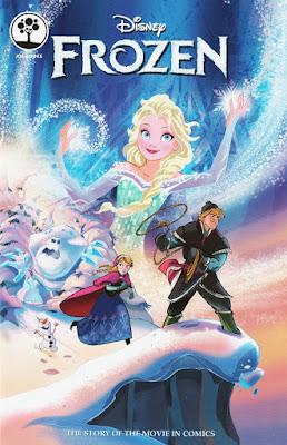 Frozen comic adaptation, published by Joe Books