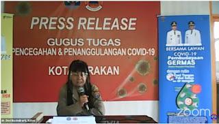 Press Release COVID-19 Tarakan 29 Juni 2020 - Tarakan Info