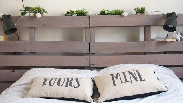 Bekannt Beauty and Rose: DIY : Tête de lit en palettes de bois QJ39