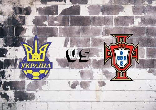 Ucrania vs Portugal  Resumen y Partido Completo