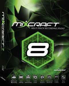 Acoustica Mixcraft Pro Studio 8 Key