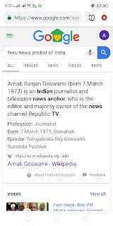 Feku news anchor arnab goswami