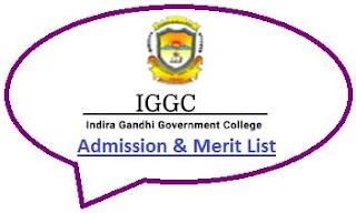 IGGC Tezu Merit List