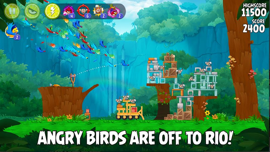 download Angry Birds Rio MOD APK 1