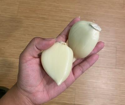 Bawang putih raksasa hebohkan Twitter