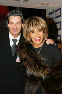Tina Turner y Erwin Bach en Baden Baden, Alemania (2005)
