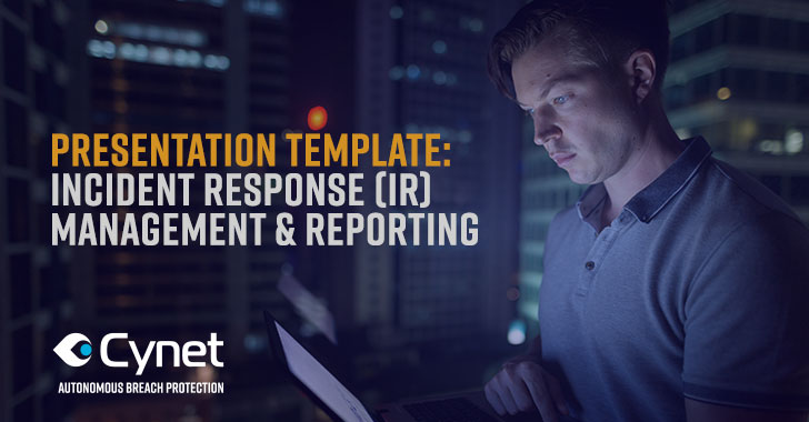 Download: Definitive 'IR Management and Reporting' Presentation Template