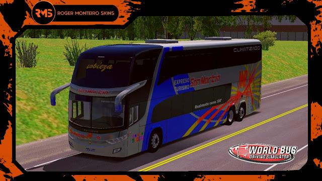 San Martin Nobleza, Skins World Bus Driving Simulator